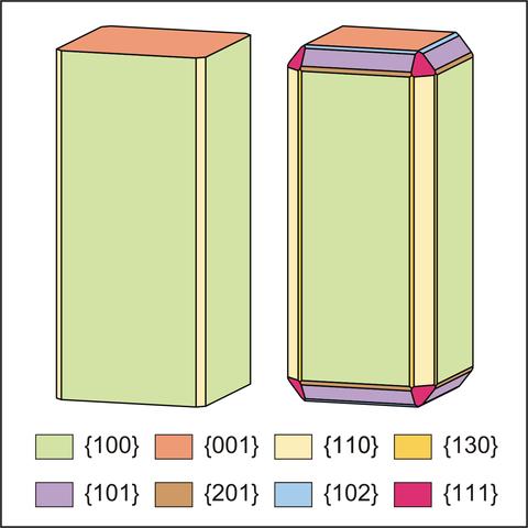 Морфология карлтонита