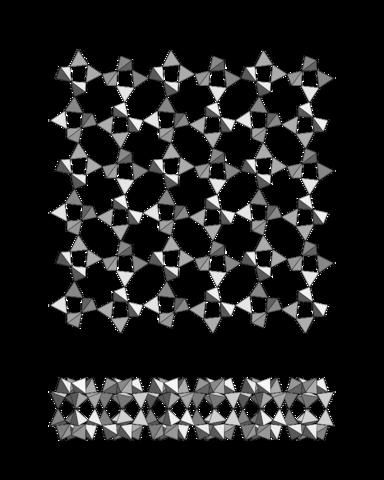 Структура карлетонита