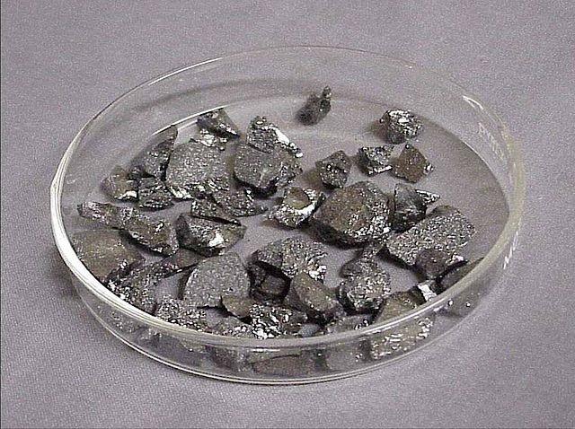 Поликристаллические куски β-бора