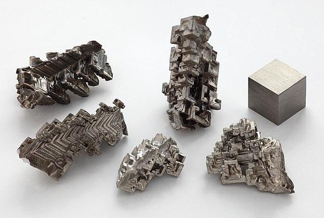Синтетические кристаллы висмута